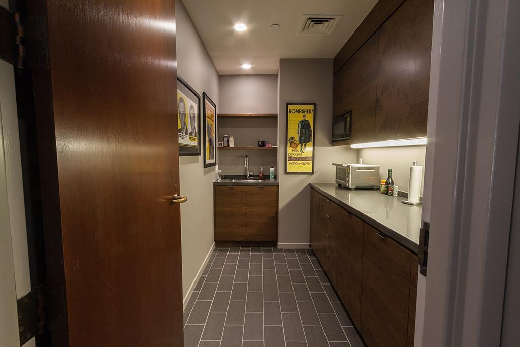 Custom pantry cabinetry
