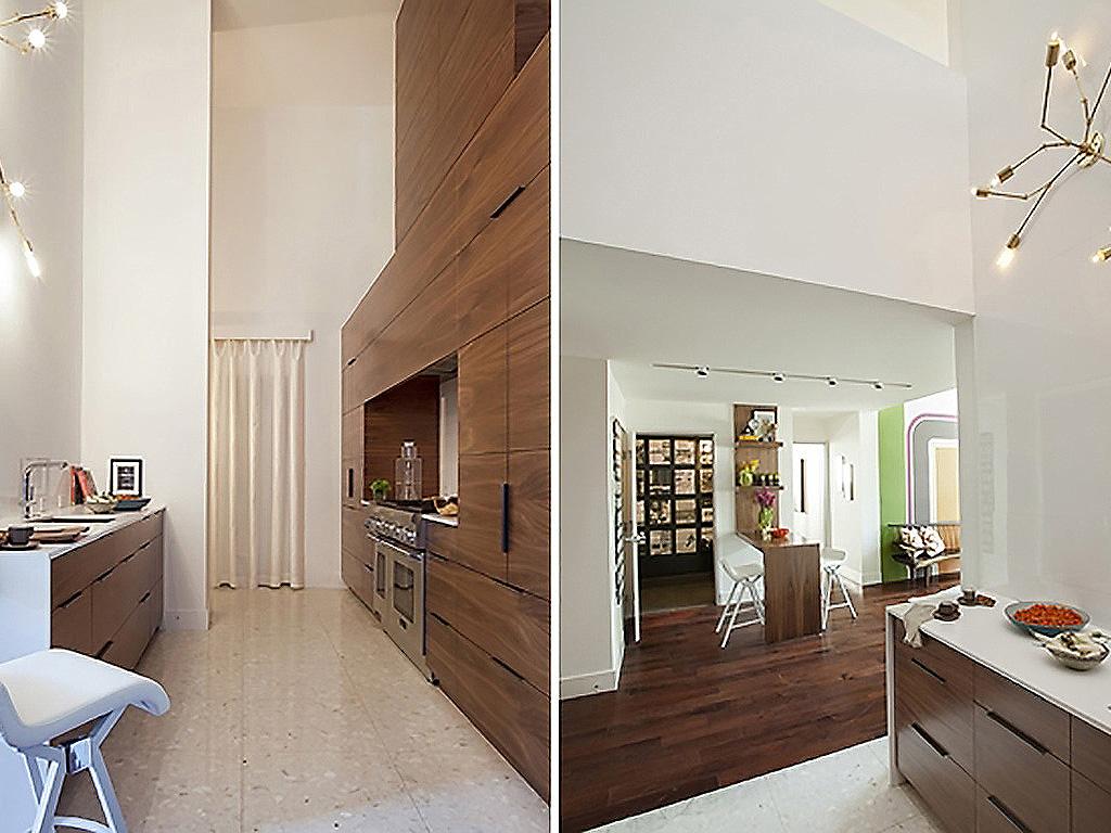Kitchen cabinetry fabrication, design by Azadeh Shladovsky