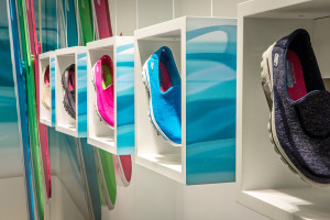 Skechers Storefront Displays and Graphics