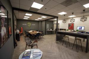 he Warner Bros. Design Studio's new Showroom and COLLAB work space.
