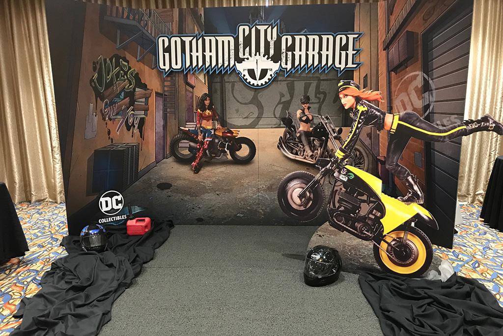 DC Collectibles Press Event @ Comic Con