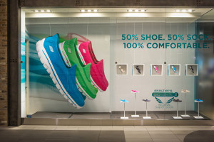 Skechers Storefront Window