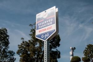 Dodgers VIP Parking Signage
