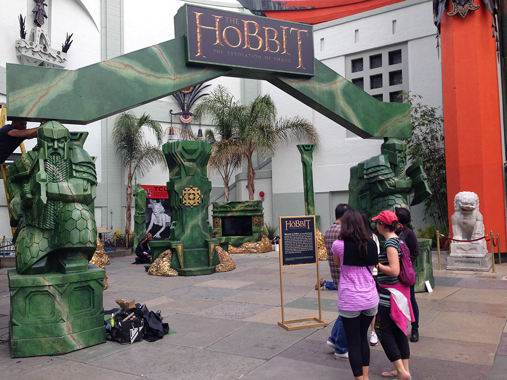 """The Hobbit: Desolation of Smaug"" Exhibit"