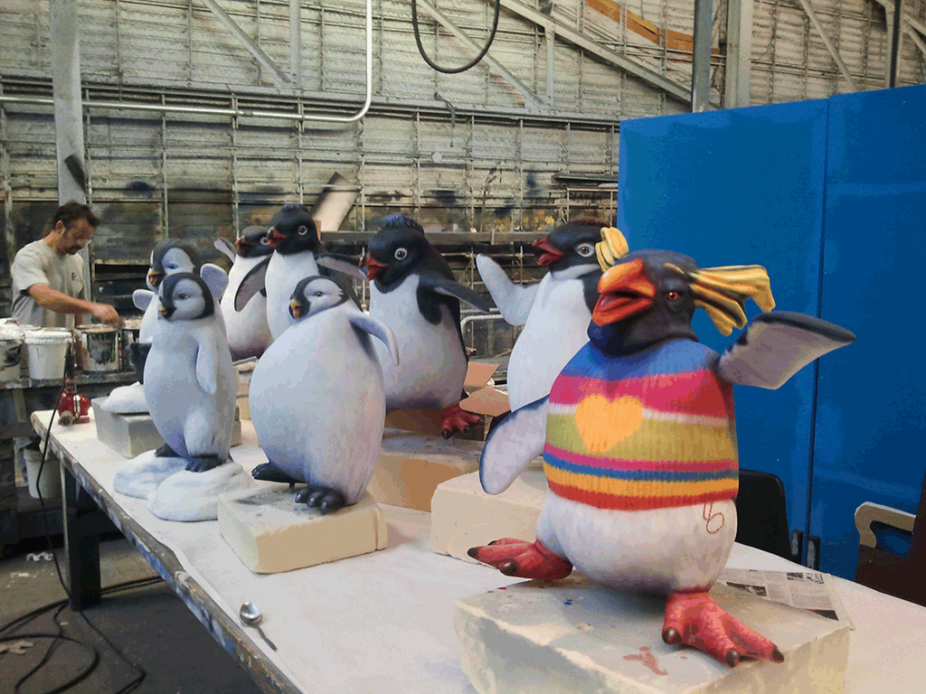 """Happy Feet Two"" Installation"