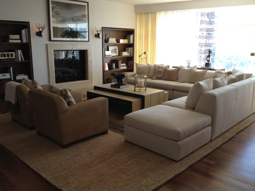 Custom modular sofa for designer David Phoenix