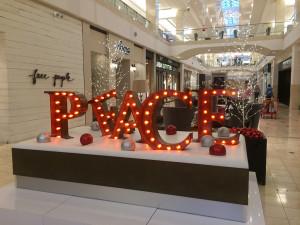 Westfield Montgomery Mall PEACE Platform