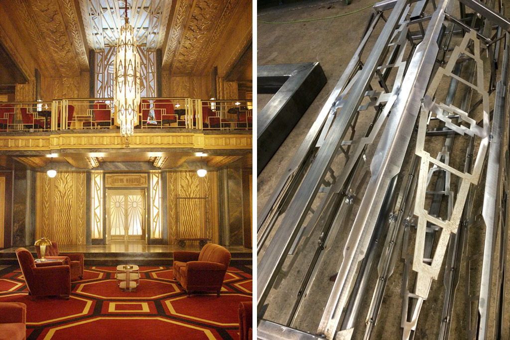 Warner bros design studio american horror story hotel for Ahs hotel decor