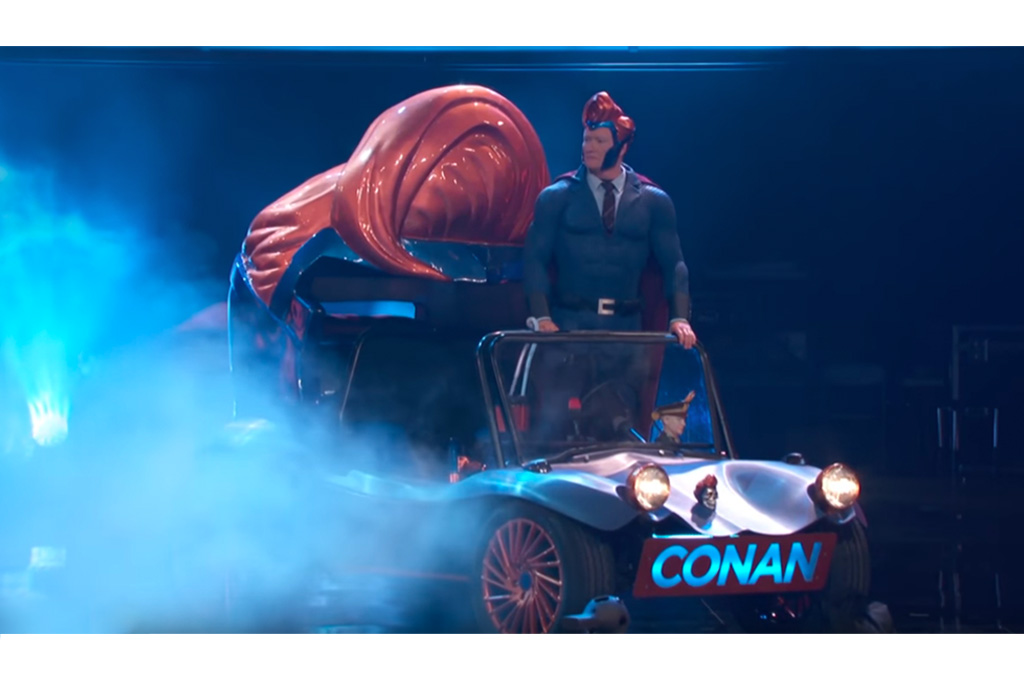 """Conan"" Superhero Vehicle"