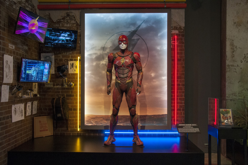 Justice League Exhibit at WB Archive